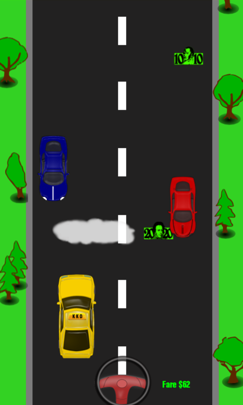 Kamikaze Kab Driver - screenshot
