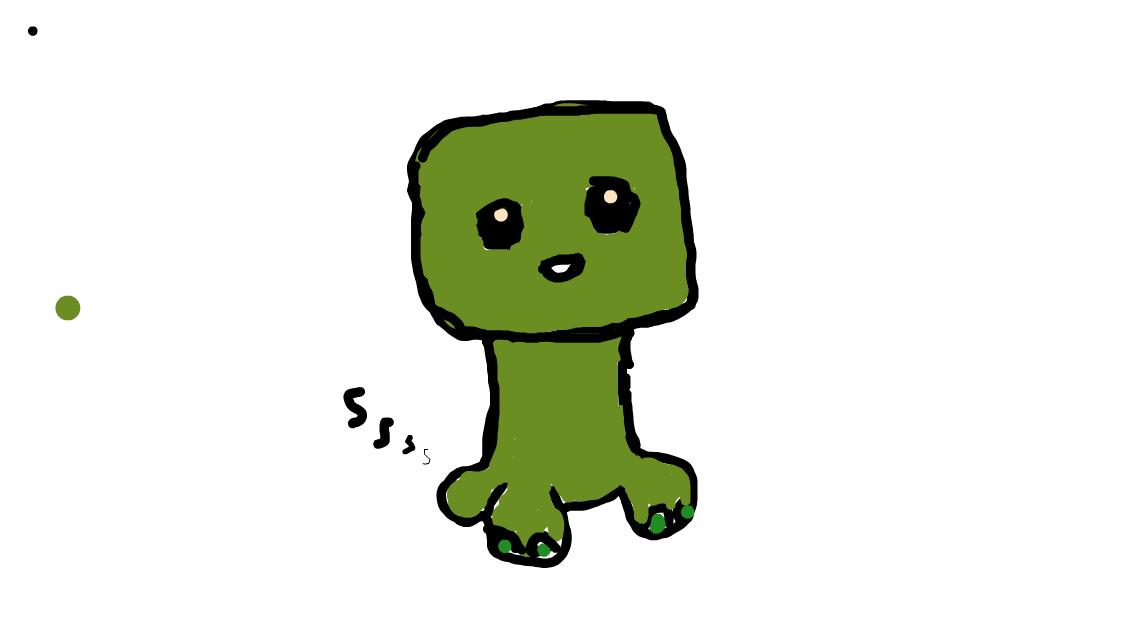 Baby Creeper Drawings Sketchport