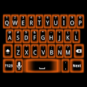 Orange Glow Keyboard Skin icon