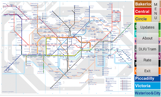 London Tube Map- screenshot thumbnail