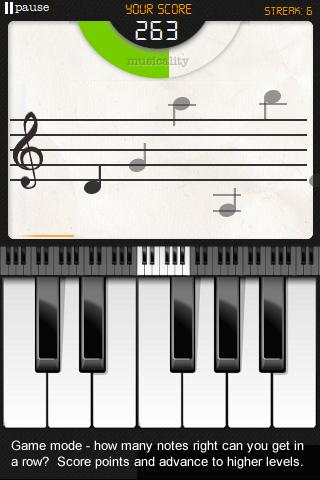 Note Trainer (Sight Reading) screenshot
