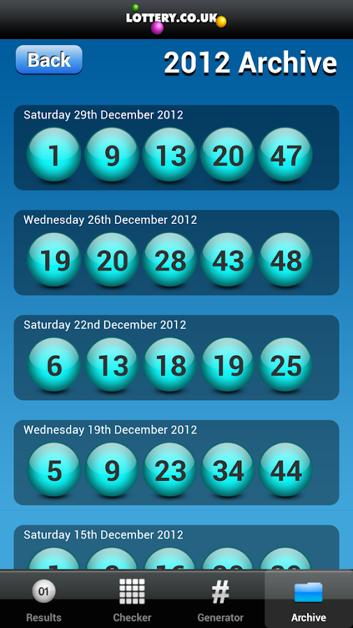 Health Lottery App 2.7 Play- screenshot