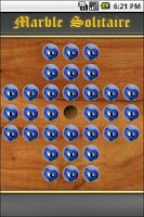 Screenshot of Marbles Solitaire