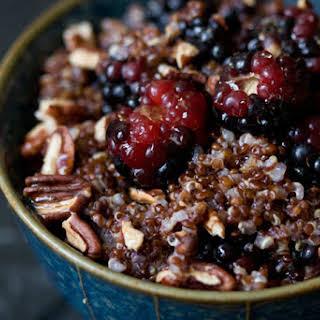 Warm Quinoa Recipes.