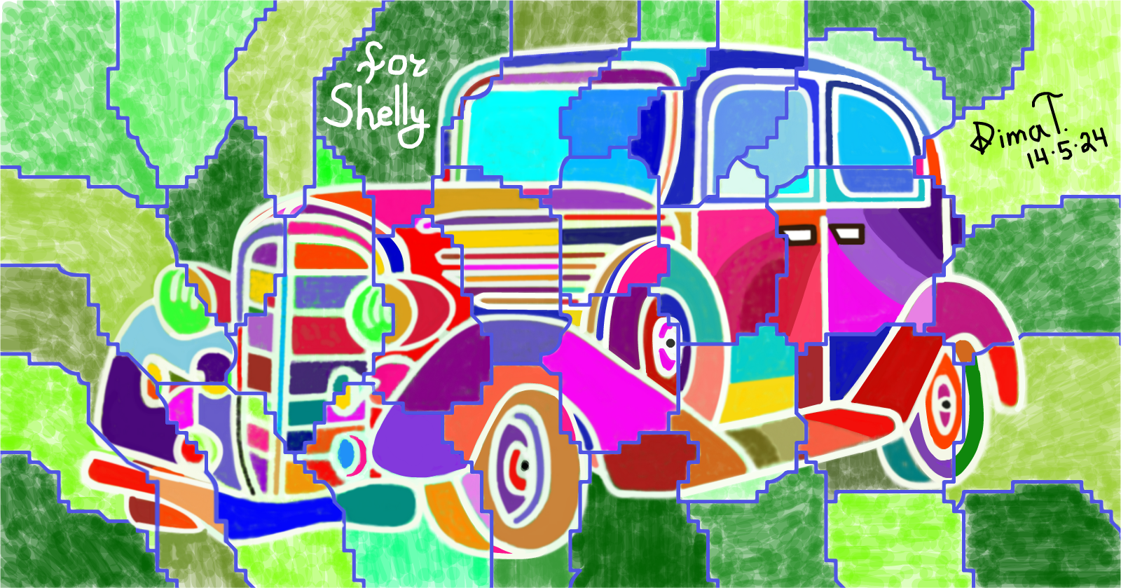 This picture for Shelly from USA !