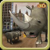 Angry Rhino Run 3D