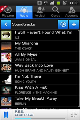 Play.me Music Player - screenshot