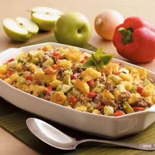 Sausage Corn Bread Dressing