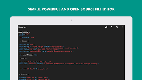 Turbo Editor // Text Editor- screenshot thumbnail