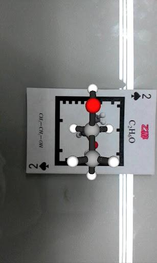 3D Molucular AR Alcohol