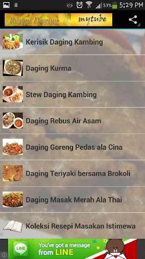 Resepi Masakan Daging 2