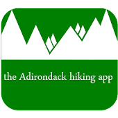 the Adirondack hiking app