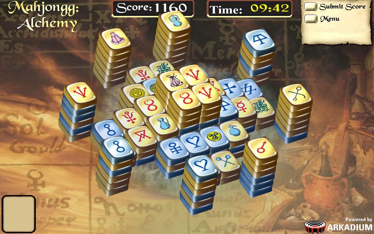 free online games msn mahjongg alchemy