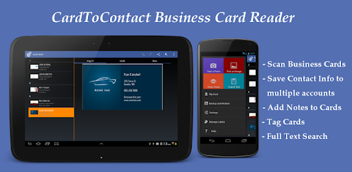 Cardtocontact card reader apps on google play reheart Images