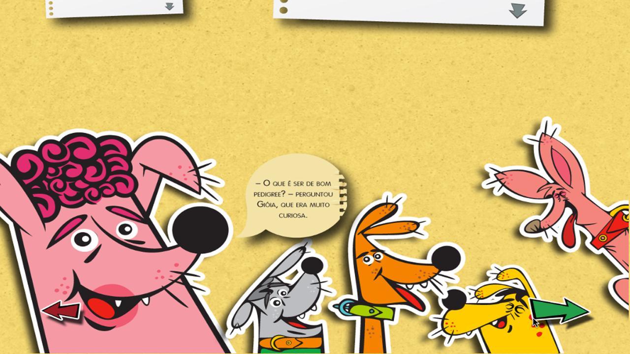Gióia, uma cachorra diferente- screenshot
