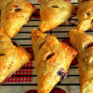 Apple Blueberry Turnovers.