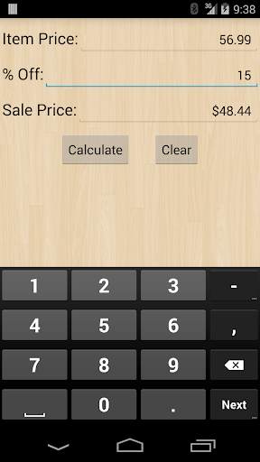 Shoppers Calc