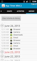 Screenshot of App Timer Mini 2 Pro