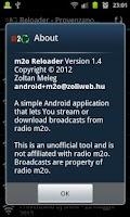 Screenshot of m2o Reloader