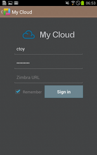 ThinkFree Mobile for Zimbra