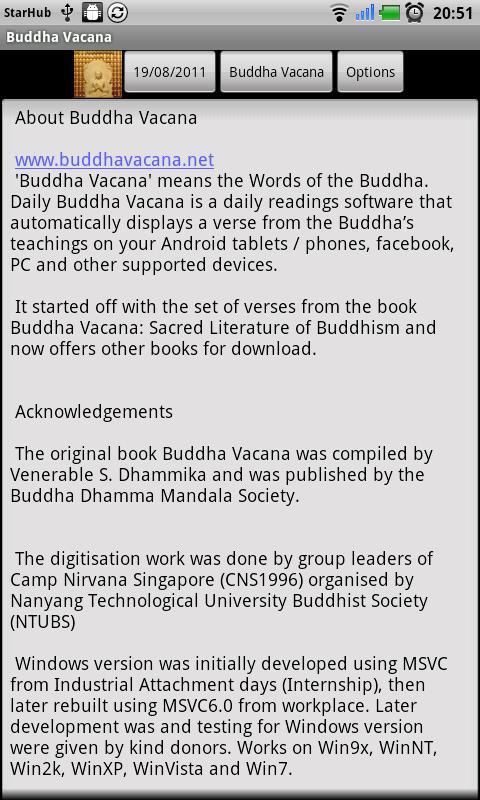 Buddha Vacana- screenshot