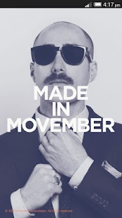 Movember Mobile - screenshot thumbnail