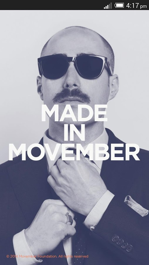 Movember Mobile- screenshot