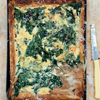 Spinach & Mascarpone Tart