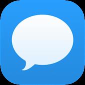 Go SMS Theme Minimal OS 7