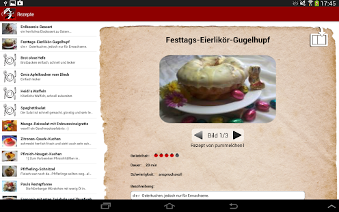 Kochmeister Rezepte GRATIS - screenshot thumbnail