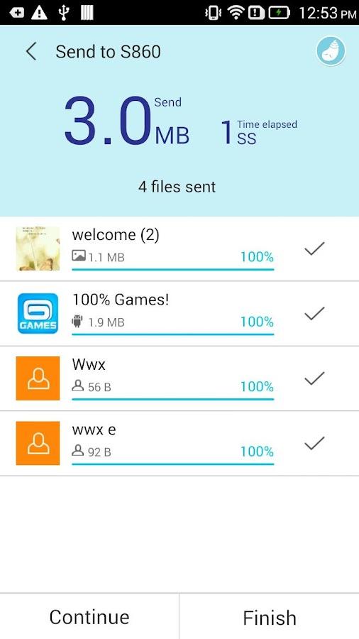 SHAREit - Connect & Transfer - screenshot