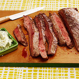 Tangy Grilled Steak.