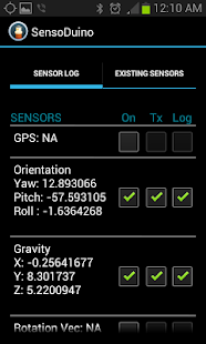 SensoDuino - screenshot thumbnail