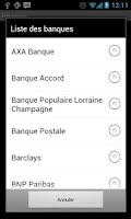 Screenshot of AndBanks
