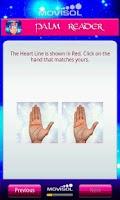 Screenshot of Palm Reader Guide