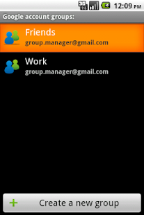 GroupManager Free- screenshot thumbnail
