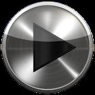 PowerAmp Skin BLACK PLATIN icon