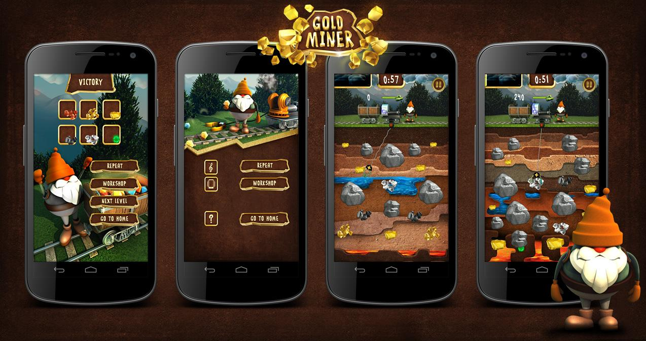Gold Miner Fred 2: Gold Rush - screenshot