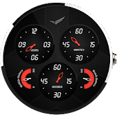 Analog Aviator Watch Face