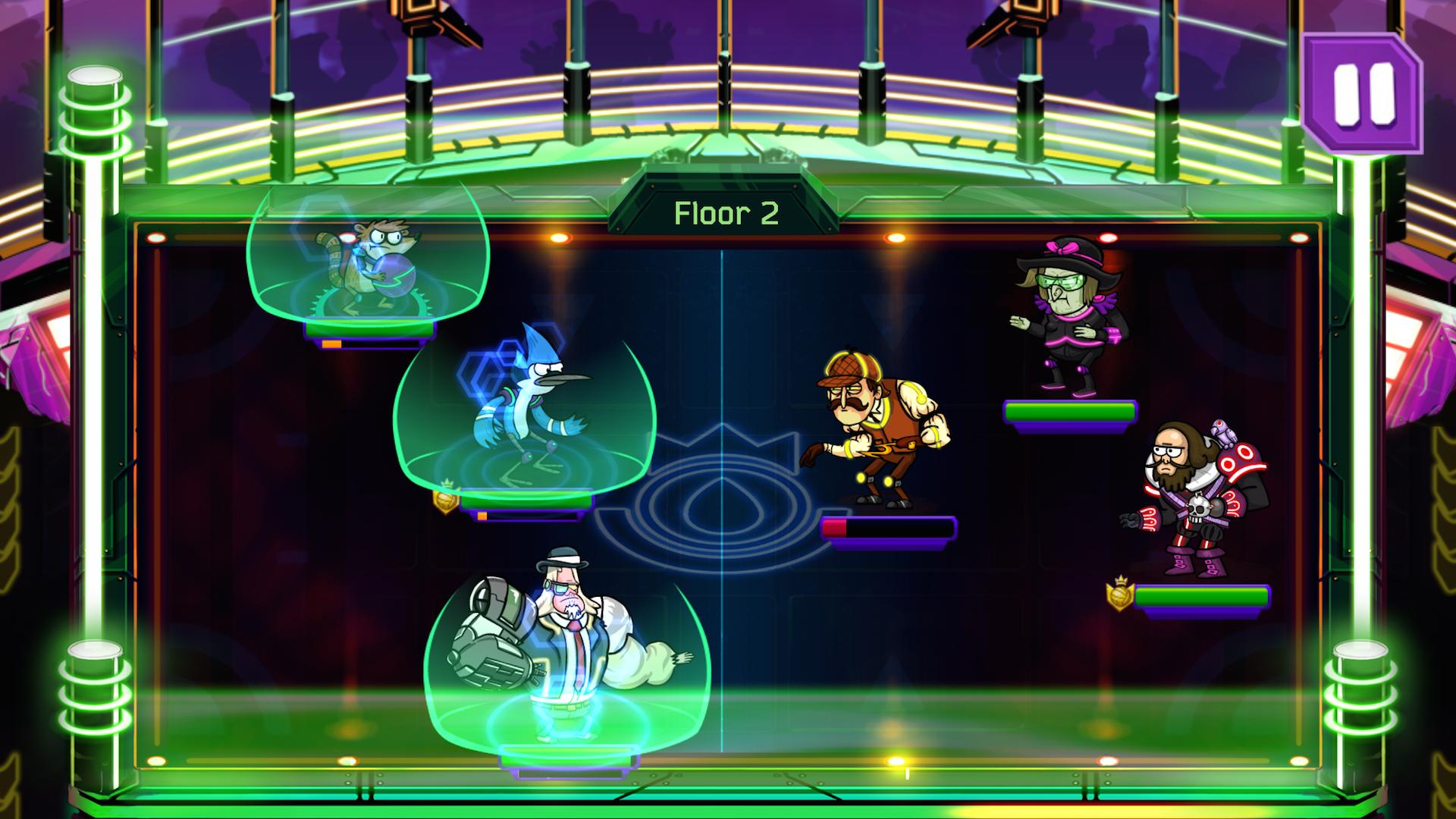 Grudgeball - Regular Show screenshot #1