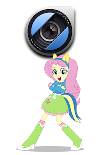 Girls Pony Camera