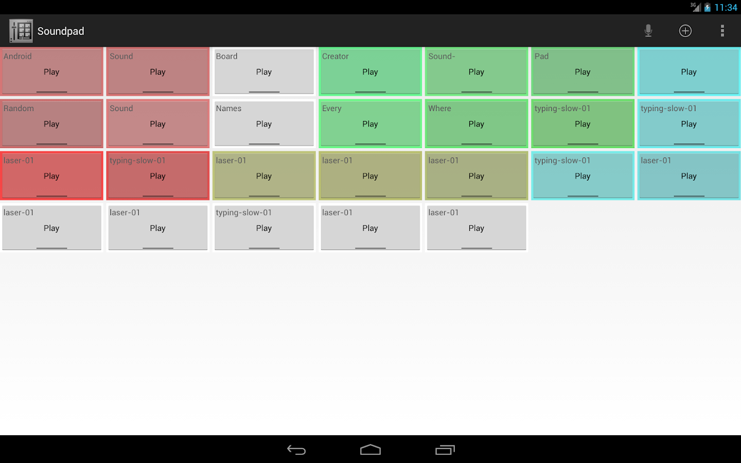 Soundboard Creator Soundpad- screenshot