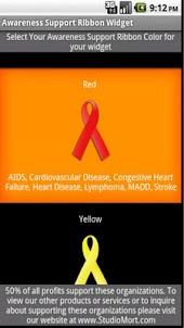 Awareness Support Ribbon