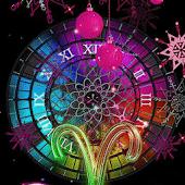 Christmas Clock a live