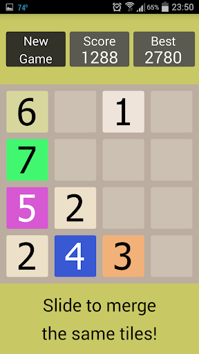 11 - version of 2048 game
