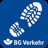 Schrittzähler-App BG Verkehr