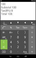 Screenshot of Calculator PanecalST Plus