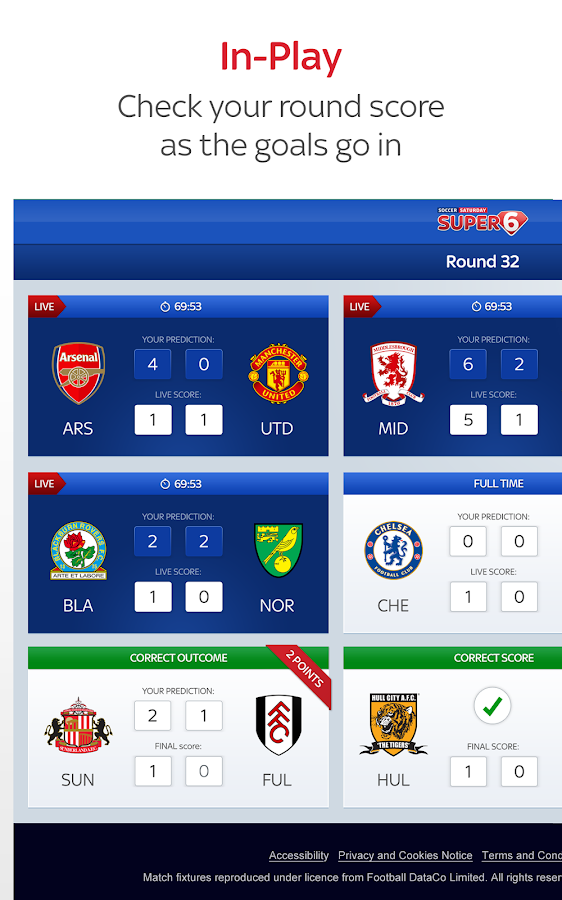 Super 6 - screenshot