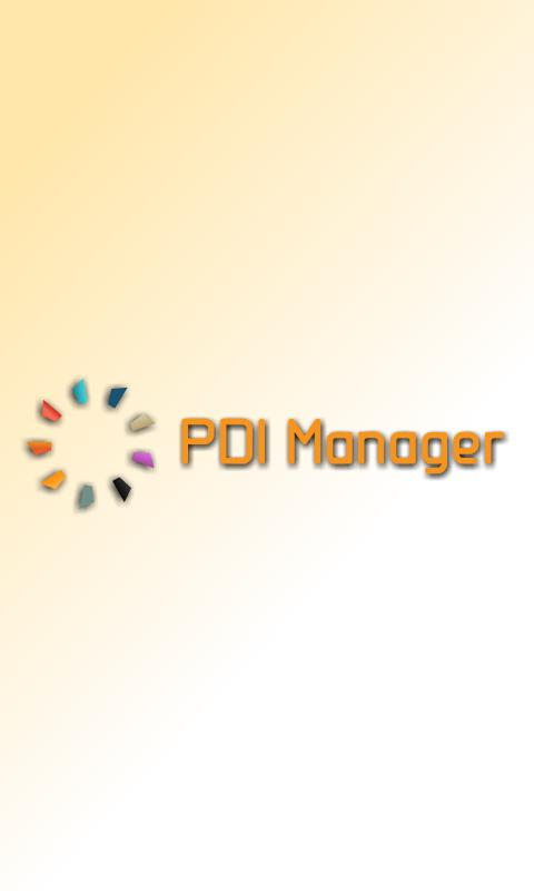 PDI Manager- screenshot