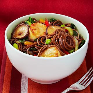 "Buckwheat Noodle ""Chow Mein""."